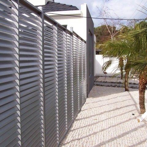 brise vue aluminium le specialiste des panneaux claustra metallique