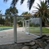 Barriere piscine aluminium et verre sur mesure - DANA