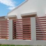 Clôture Aluminium lame rectangulaire