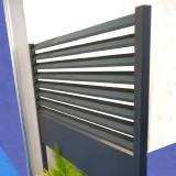 Clôture Aluminium lame losange