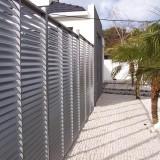 Clôture Aluminium séparation