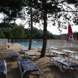 Cloture de piscine barreaux aluminium camping