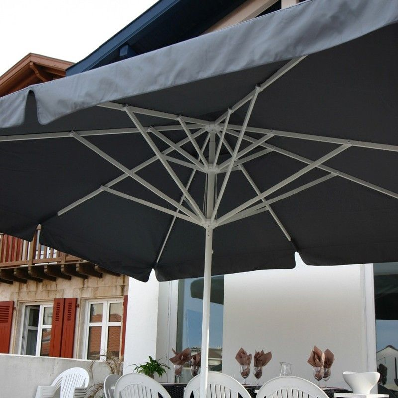 parasol aluminium centr multiples formats fab. Black Bedroom Furniture Sets. Home Design Ideas