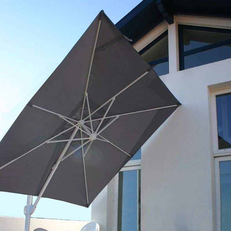 parasol aluminium centr ou d port haut de gamme. Black Bedroom Furniture Sets. Home Design Ideas