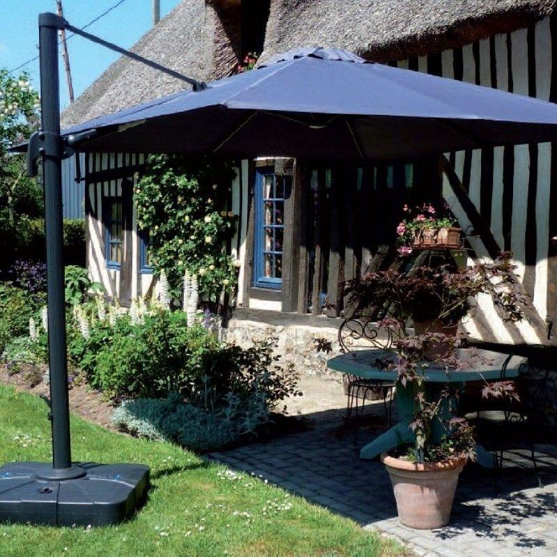 Parasol aluminium centr d port haut de gamme fabrication france - Piece detachee parasol deporte ...