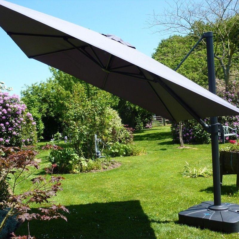 parasol aluminium carr d port gamme carre d 39 ombre. Black Bedroom Furniture Sets. Home Design Ideas