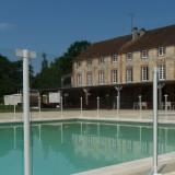 Barrière de piscine verre