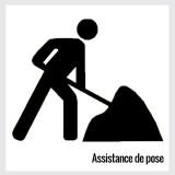 Assistance de pose (au mètre linéaire)