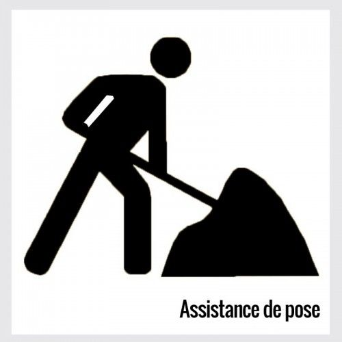 Prestation ou assistance de pose
