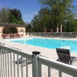 barriere de piscine aluminium hotel