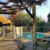 Barriere piscine verre sur mesure - HEKA