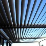 Pergola Bioclimatique aluminium Somfy