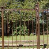 Panneau barrière fer forgé