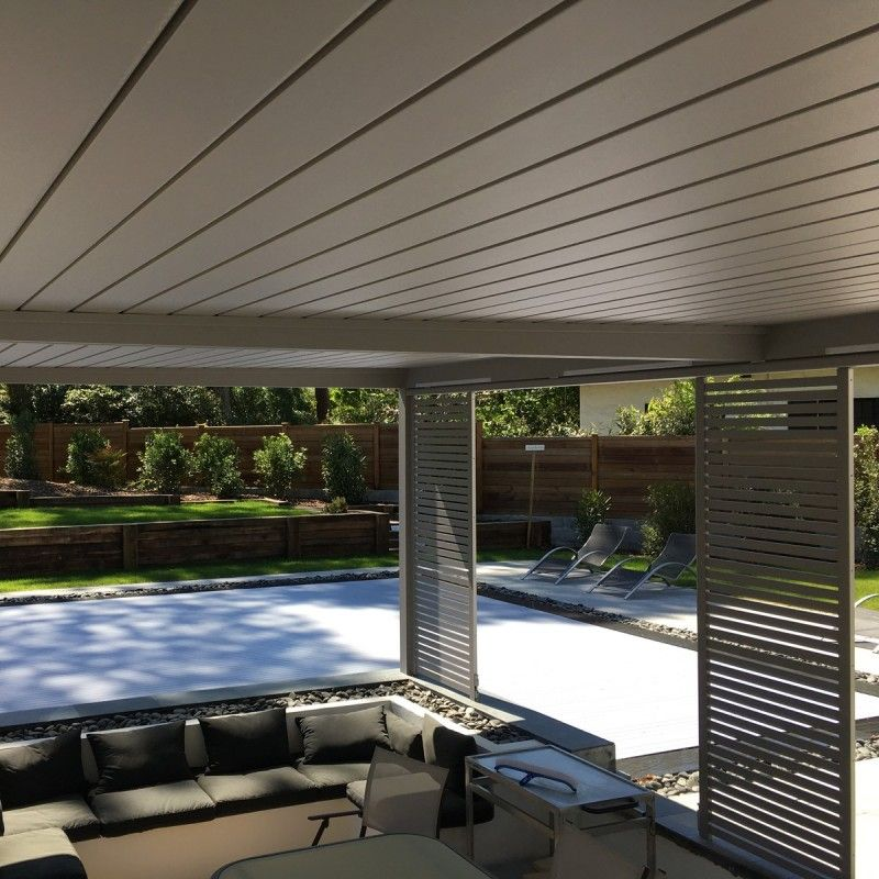 pergola aluminium protection solaire avec lames orientables france. Black Bedroom Furniture Sets. Home Design Ideas