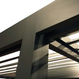 Structure pergola bioclimatique
