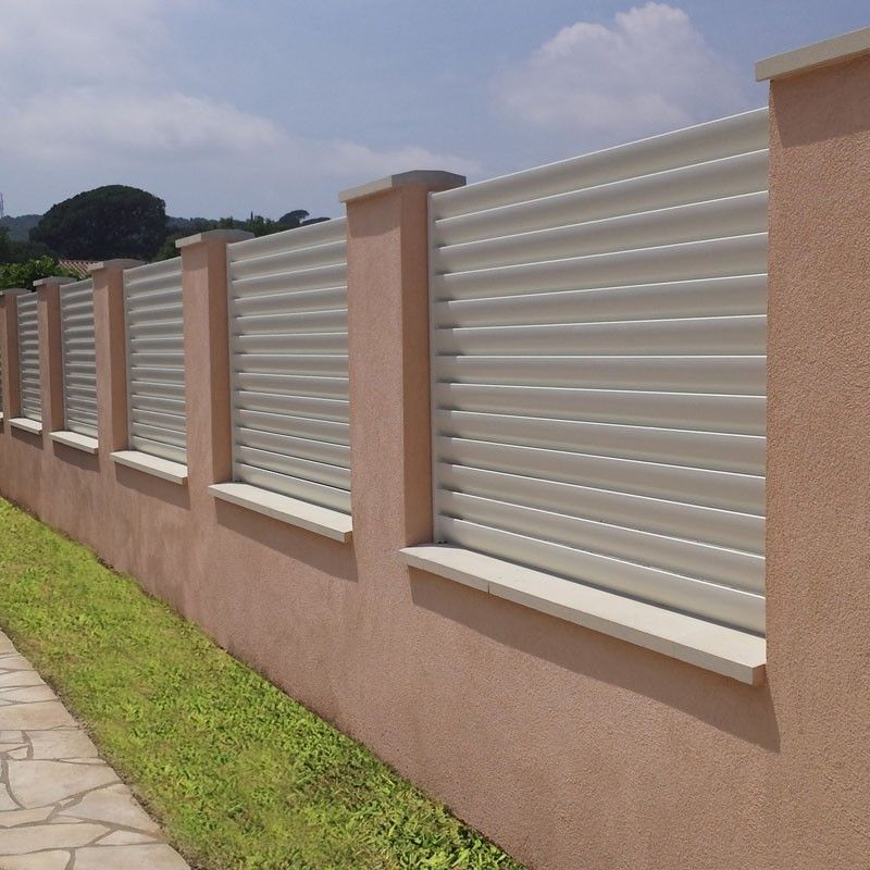 cloture aluminium distributeur de cl tures claustra en aluminium. Black Bedroom Furniture Sets. Home Design Ideas