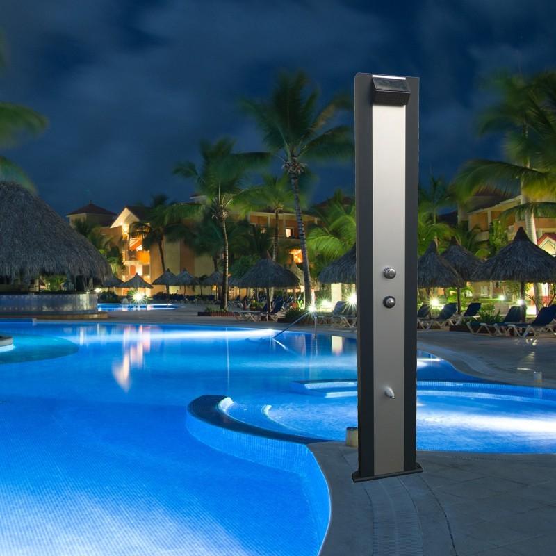 douche solaire aluminium design qualit performance collectivit. Black Bedroom Furniture Sets. Home Design Ideas