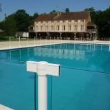 Barrière piscine collectivité