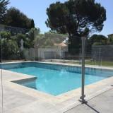Barriere piscine verre trempé