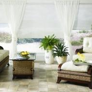Store vertical salon blanc