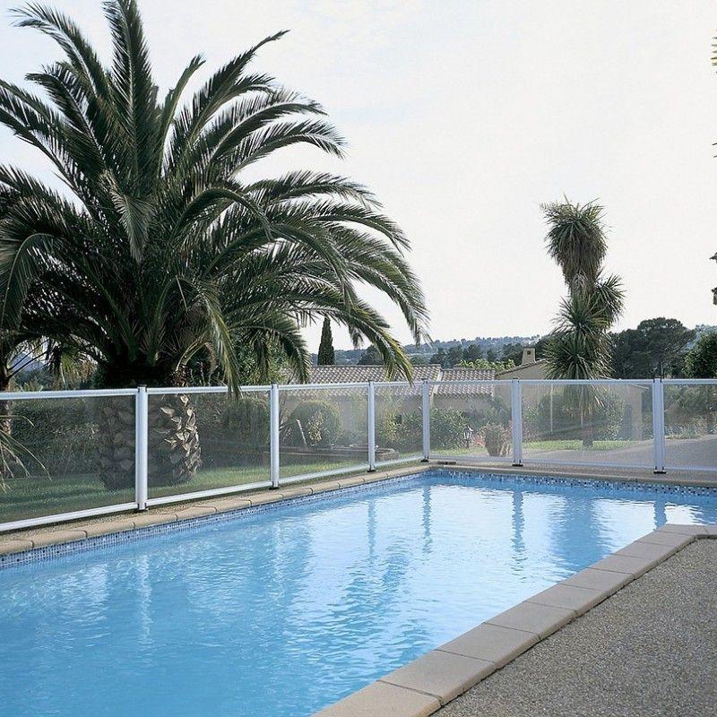Barriere aluminium et verre dana - Barriere piscine design ...