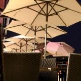 Parasol centré LE PUB