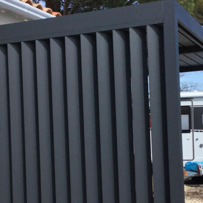 Pergola Aluminium Avec Lames Orientables Sur Mesure France