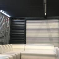 Store électrique vertical pour pergola