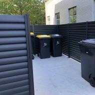 local cache conteneurs extérieur