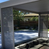 Option pergola bioclimatique