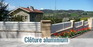 Brise vue et cloture aluminium