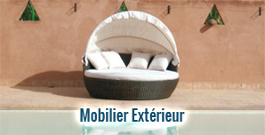mobilier exterieur jardin haut de gamme