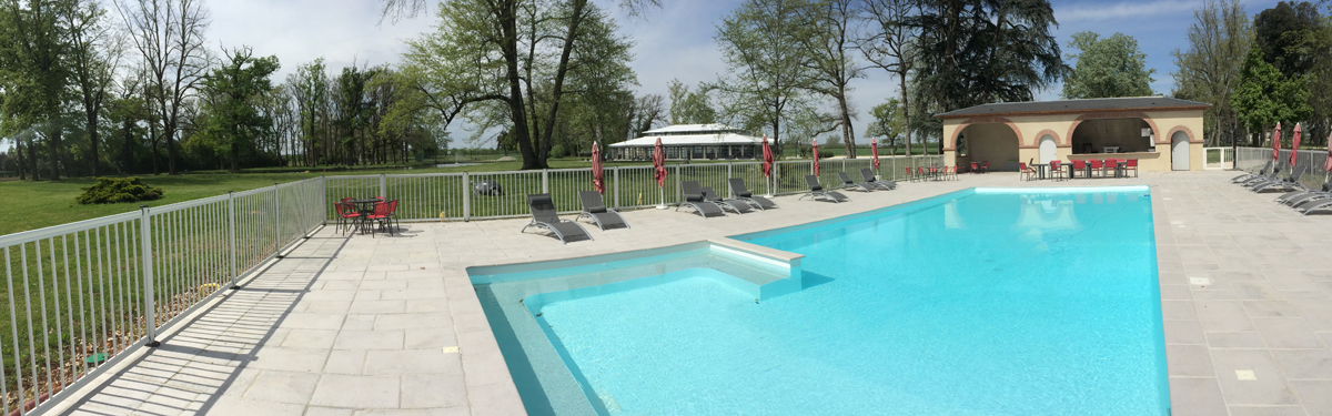 Cloture piscine aluminium