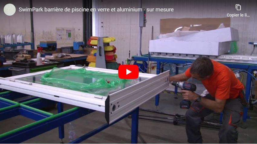 La fabrication d'une barrière de piscine