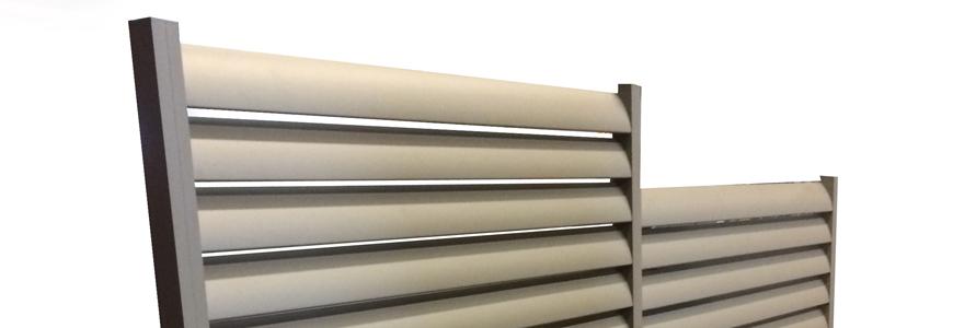 brise vue aluminium le sp cialiste des panneaux claustra. Black Bedroom Furniture Sets. Home Design Ideas