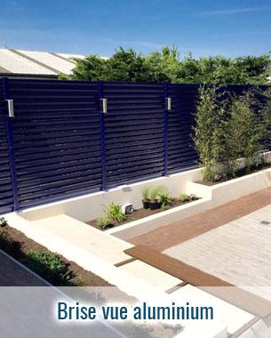 Brise vue aluminium design couleur au choix