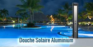 Douche solaire aluminium
