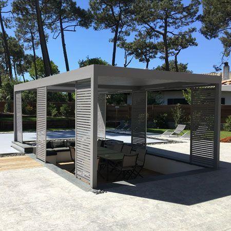 pergola bioclimatique aluminium ambiance ext rieure. Black Bedroom Furniture Sets. Home Design Ideas