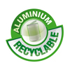 Douche solaire en aluminium recyclable