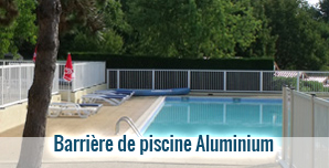 cloture piscine - modèle ANTARES